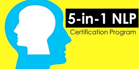 ⚠️ 5-in-1 NLP Certification Program (Closed Door Session) tickets