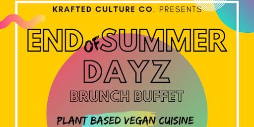 Krafted Culture presents... END OF SUMMER DAYZ BRUNCH BUFFET
