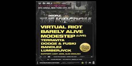 Disciple Takeover NYC : Virtual Riot + Barely Alive + Modestep tickets