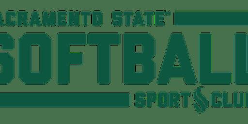 Sacramento State Softball Club  Youth Softball Skills Clinic
