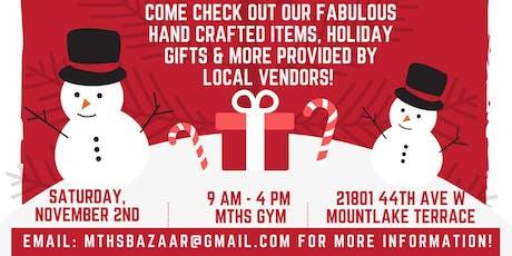 MTHS Holiday Bazaar tickets