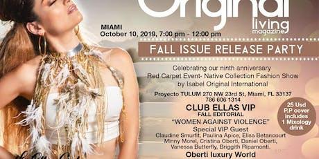 Original Living Magazine Fall Issue  Released Party &  CLUB ELLAS VIP tickets