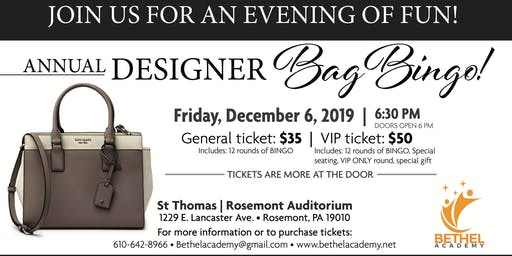 Designer Bag Bingo !