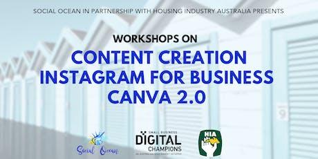HIA Social Media Workshops tickets