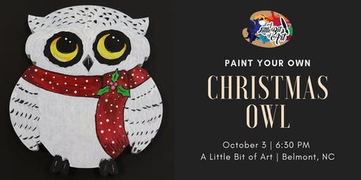Paint It - Christmas Owl