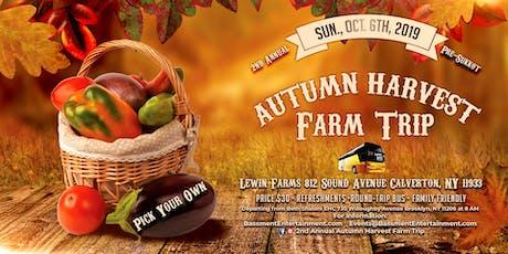 2nd Annual Autumn Harvest Farm Trip tickets