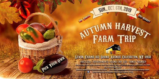 2nd Annual Autumn Harvest Farm Trip