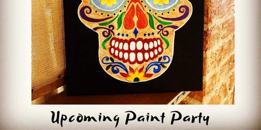 Day Of The Dead Paint Party