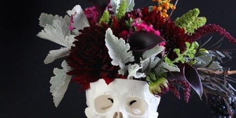 """""""Boo's and Brew's"""" Halloween Flower workshop tickets"""