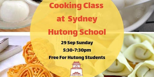 Cooking Workshop at Sydney Hutong School