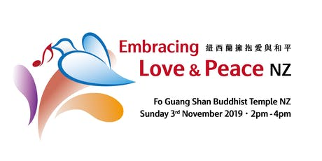 Embracing Love & Peace NZ - Auckland tickets
