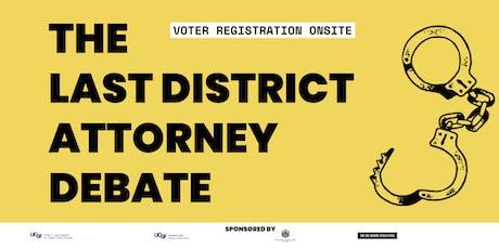 San Francisco District Attorney Debate tickets