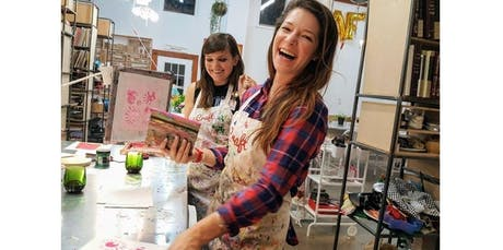 Ladies' Night: DIY Screenprinting (2019-10-02 starts at 6:30 PM) tickets