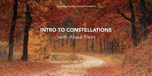 Intro to Constellations with Alissa Fleet