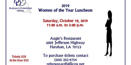 2019  Women of the Year Luncheon tickets