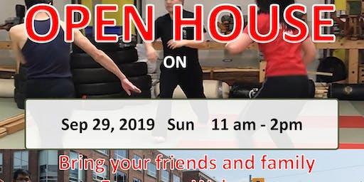 Kung Fu Open House - Bamboo Kung Fu