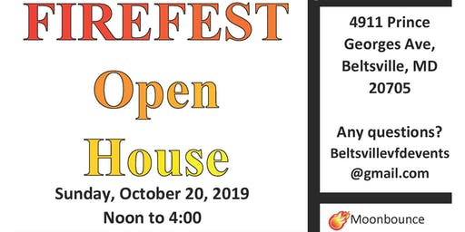 BVFD FIREFEST Open House (Vendors Needed)