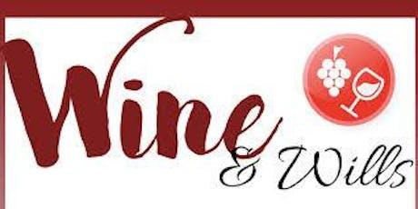 Wine & Wills tickets