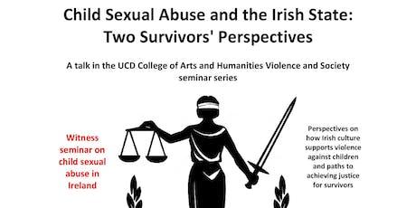 Violence and Society Seminar tickets