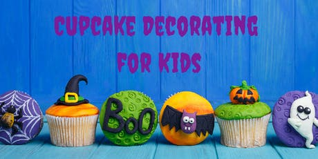 26 October - KIDS Kingsley: Cupcake Decorating Class tickets