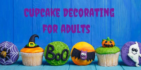 26 October - ADULTS Kingsley: Cupcake Decorating Class tickets