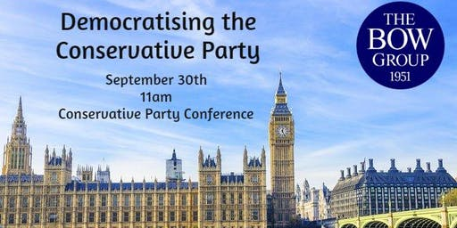 Democratising the Conservative Party