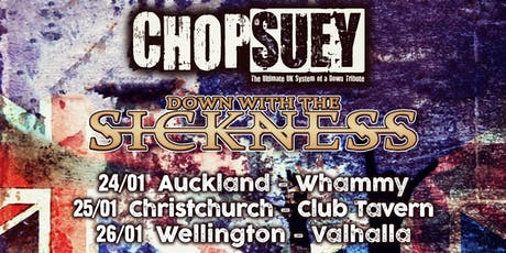 Chop Suey - Wellington tickets