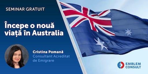 Start a new life in Australia