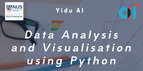Python Data Analytics Course: Pandas and Data Visualization tickets
