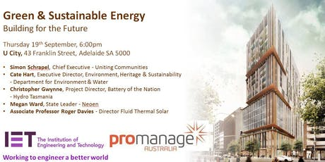 Green & Sustainable Energy: Building for the Future tickets