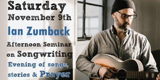 Songwriting and Stories with Ian Zumback