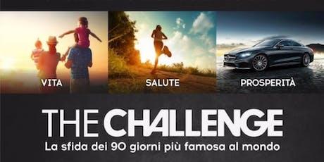 SETTIMO TORINESE - CHALLENGE PARTY (LA SFIDA DEI 90 GIORNI) biglietti