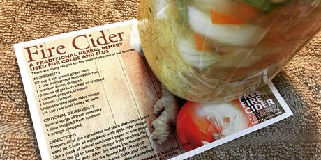 Fire Cider-Making for Winter Wellness Party tickets