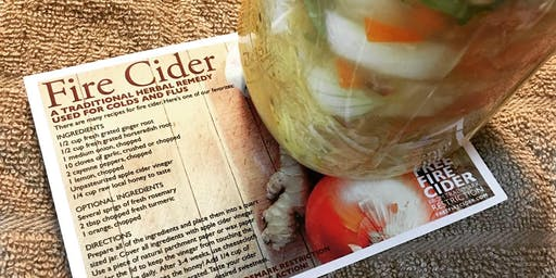 Fire Cider-Making for Winter Wellness Party