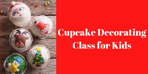23 November - KIDS & ADULTS Kingsley: Cupcake Decorating Class