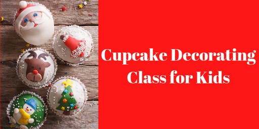7 December - KIDS & ADULTS Kingsley: Cupcake Decorating Class