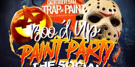 """TRAP -N- PAINT """"THE BOO'D UP PAINT PARTY"""" HALLOWEEN EDITION tickets"""