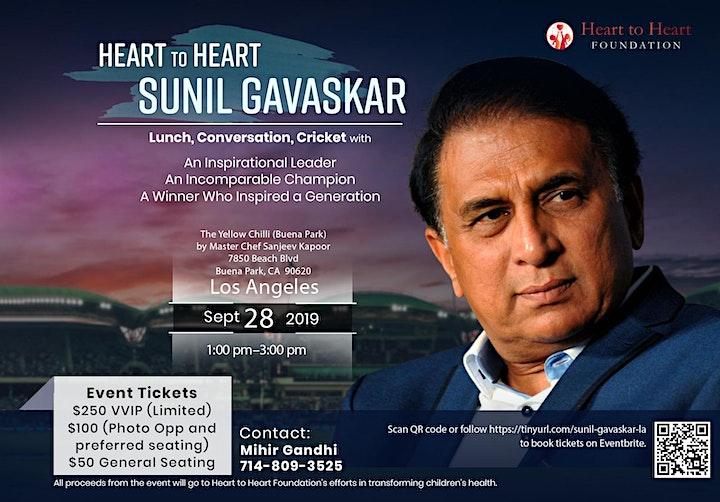 Heart to Heart with Sunil Gavaskar image