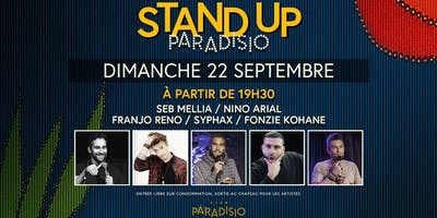 Stand-Up Paradisio #3 (Comedy Show)