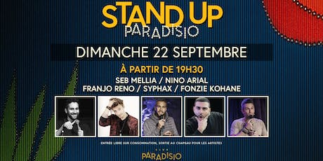 Stand-Up Paradisio #3 (Comedy Show) billets