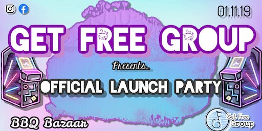 Get Free Group Launch Party