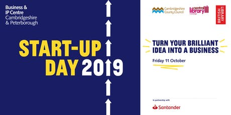 Startup Day 2019: How to build your business without burning yourself out tickets