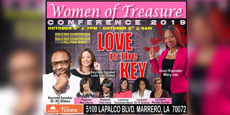 Women of Treasure Conference 2019: Love Is The Key tickets