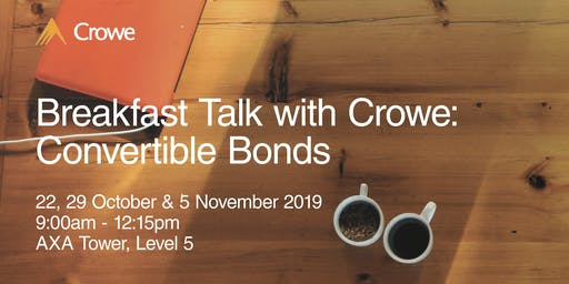 Breakfast Talk with Crowe: Convertible Bonds
