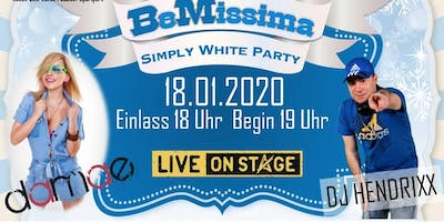 BeMissima Festival - Simply White Party