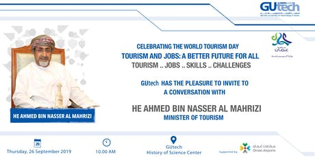 Celebrating the World Tourism Day tickets