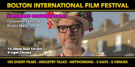 Awkward Questions - Documentary Film-making with Richard Macer tickets