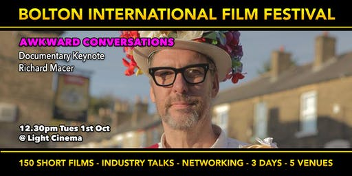 Awkward Questions - Documentary Film-making with Richard Macer