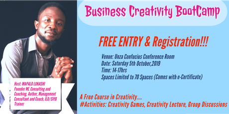 Business Creativity Bootcamp tickets