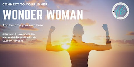 Connect to your Inner Wonder Woman and become your own Hero tickets